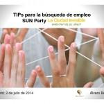 PDF: Tips Busqueda Empleo (Suns Party 020714)