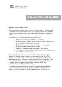 thumbnail of Plan de acción LA SALUD TU MEJOR TALENTO I