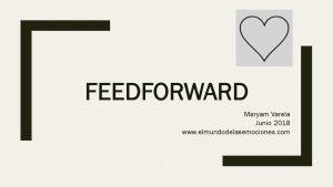 thumbnail of Presentacion_Feedforward_by_Maryam_Varela